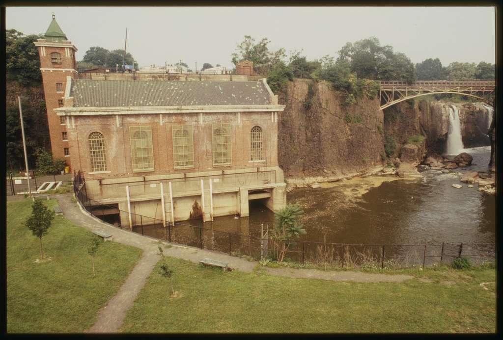 power house at passaic falls paterson-nj